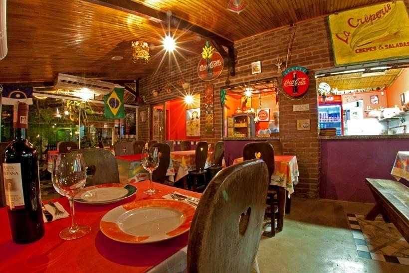 restaurantes em porto de galinhas