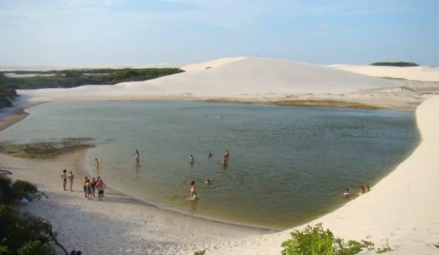 Lagoa do Peixe - Lençóis Maranhenses
