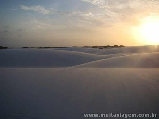 As dunas do Parque Nacional dos Lençóis Maranhenses