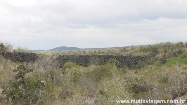 Muro de Lágrimas em Galápagos