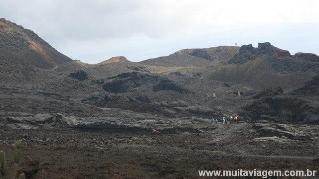 vulcão Chico Galápagos