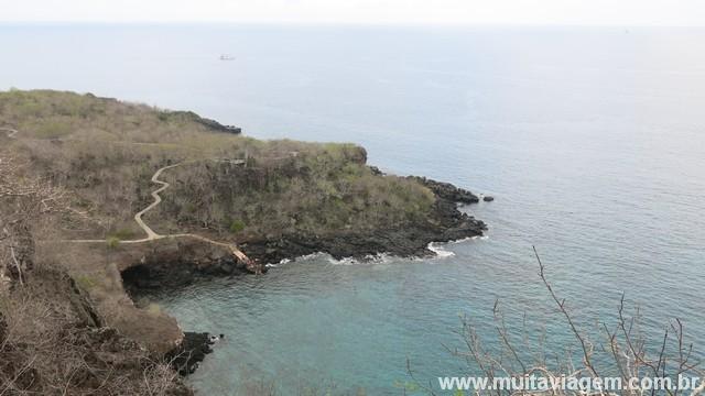 Cierro Tijeretas em Galápagos