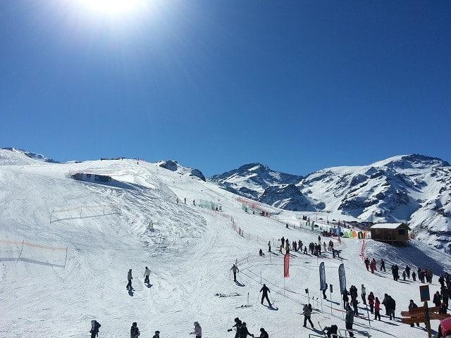 viagem esquiar neve