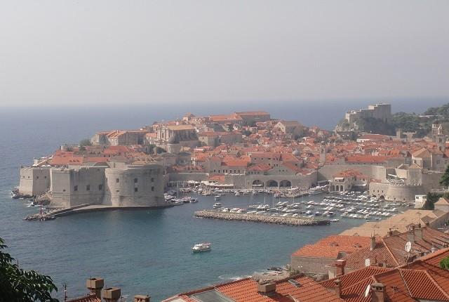Fortaleza da cidade velha de Dubrovnik