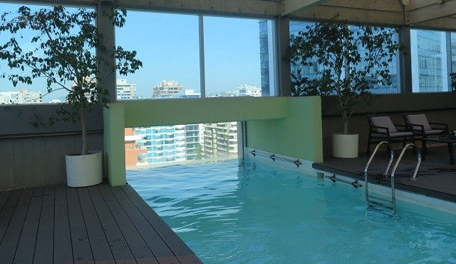 hotel piscina santiago