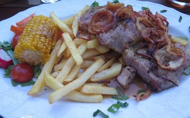 comida típica tcheca