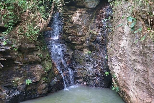 Cachoeira do Paredão, no Parque Estadual da Serra de Caldas Novas