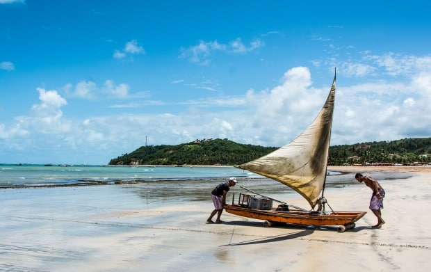 Japaratinga é uma praia tranquila e rústica ao lado de Maragogi