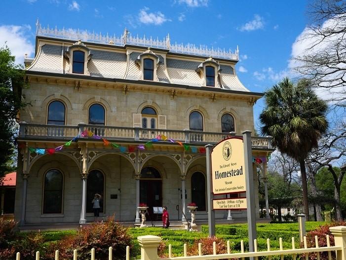 Mansão de 1876, no bairro histórico de King William, em San Antonio.