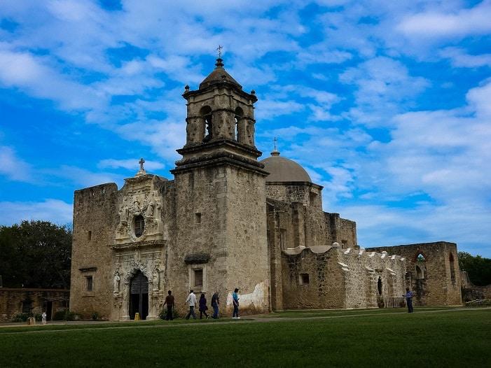 As missões são um passeio gostoso para fazer em San Antonio.
