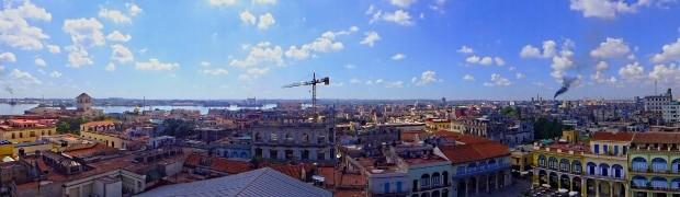 Vista panorâmica da capital de Cuba, Havana