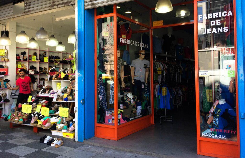 roupas em Buenos Aires
