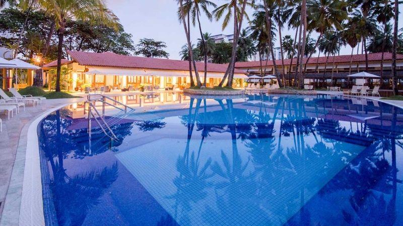 Resorts em Maceió e Alagoas ficam próximos ao mar de águas calmas e quentes que caracterizam o litoral alagoano