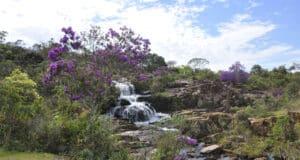Em Rio Acima, próximo de BH, a Cachoeira do Viana é uma das atrações